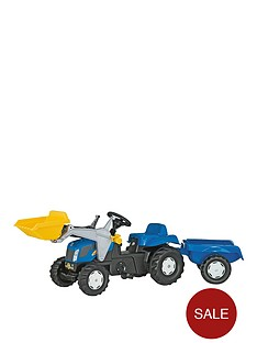 rolly-toys-new-holland-tvt-190-tractor-with-frontloader