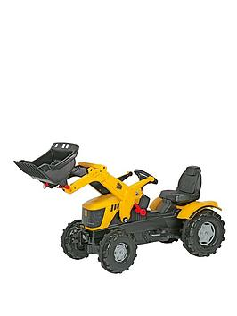 rolly-toys-jcb-8250-v-tronic-tractor-with-frontloader