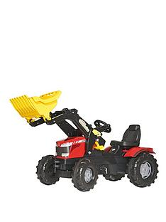 rolly-toys-massey-ferguson-mf-8650-tractor-with-frontloader
