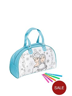 disney-frozen-colour-your-own-weekender-bag