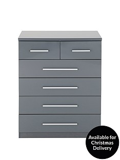 prague-high-gloss-4-2-chest-of-drawers