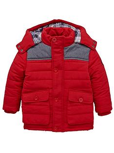 ladybird-boys-red-quilted-coat