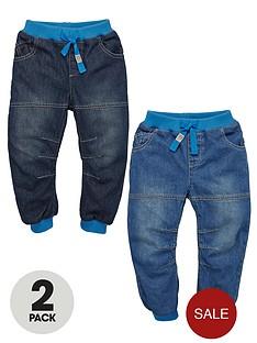 ladybird-boys-cuffed-denim-jeans-2-pack