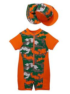 ladybird-toddler-boys-camo-sunsafe-and-hat