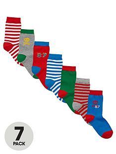ladybird-fashion-socks-7-pack