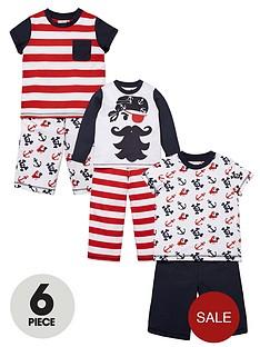 ladybird-boys-6-piece-pirate-pyjama-set