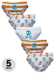 ladybird-toddler-boys-skull-print-briefs-5-pack