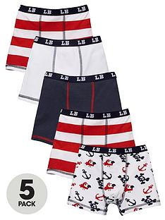 ladybird-boys-pirate-print-trunks-3-pack