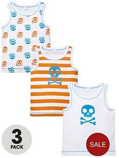 ladybird-toddler-boys-skull-printed-vests-3-pack