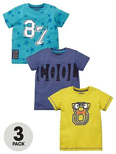 ladybird-boys-cool-t-shirts-3-pack