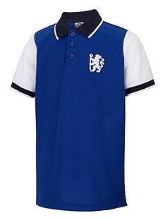 chelsea-junior-contrast-polo-top