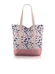 radley-cherry-blossom-dog-large-canvas-tote-bag
