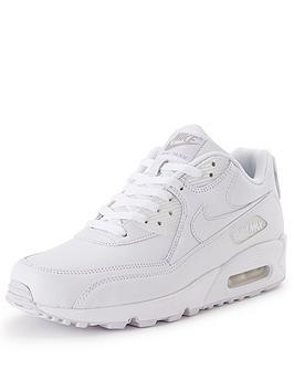sdtlt Nike Air Max 90 Mens Leather Trainers | very.co.uk