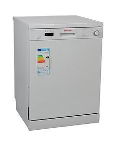 sharp-qw-c13f471w-12-place-dishwasher-white