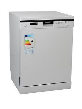 sharp-qw-t13f491w-12-place-dishwasher-white