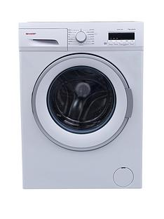 sharp-es-fb7124w2-1200-spin-7kg-load-washing-machine-white