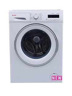 sharp-es-fb7144w3-7kg-load-1400-spin-washing-machine-white