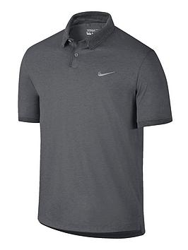 Nike Modern Fit Transition Mens Block Polo