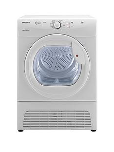 hoover-vtc671w-vision-tech-7kg-condenser-sensor-tumble-dryer-white