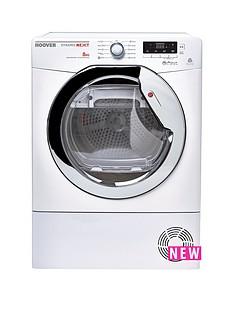 hoover-dncd813w-dynamic-8kg-aquavision-condenser-sensor-tumble-dryer-white
