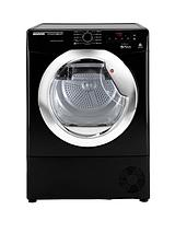 DNCD813BB Dynamic 8kg Aquavision Condenser Sensor Tumble Dryer - Black