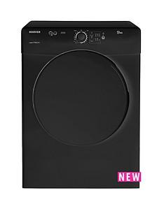 hoover-vtv590ncb-vision-tech-9kg-condenser-sensor-tumble-dryer-black