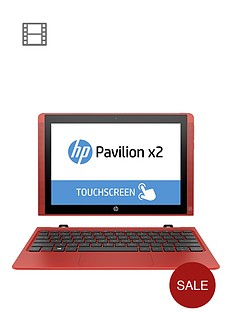 hp-pavilion-x2-10-n002na-intelreg-atomtrade-processor-2gb-ram-32gb-ssd-storage-10-inch-touchscreen-2-in-1-laptop-with-one-year-free-microsoft-office-365-personal-sunset-red