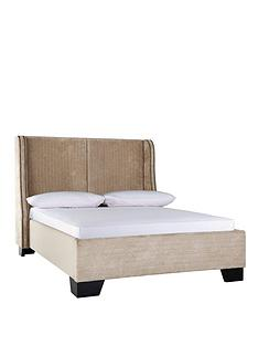 laurence-llewelyn-bowen-raffles-fabric-bed-frame-with-optional-mattress
