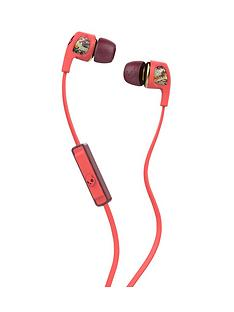 skullcandy-dime-womens-in-ear-headphones-with-mic-coralfloralburgundy