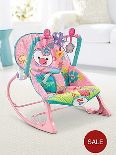 fisher-price-rainforest-infant-to-toddler-rocker-pink