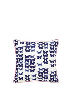 joules-butterfly-floral-cushion