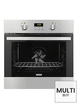zanussi-zob35361xk-60cm-built-in-single-electric-oven-stainless-steel