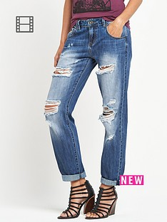 firetrap-ripped-boyfriend-jeans