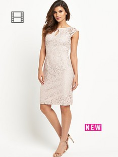 wallis-keyhole-lace-dress