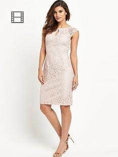 wallis-keyhole-lace-dress
