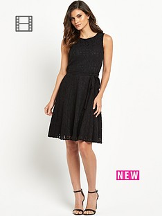 wallis-fit-flare-dress