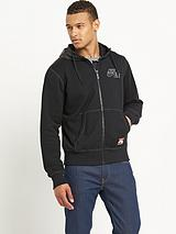 Air Power Mens Full Zip Hooded Top
