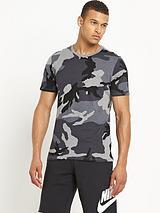 Mens Camo Futura T-shirt