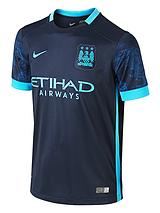 Mens Manchester City FC 2015/16 Away Shirt