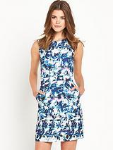 Shadow Leaf Dress