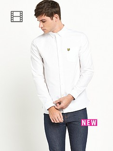 lyle-scott-mens-oxford-shirt-white
