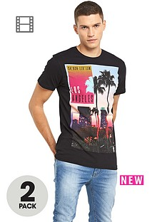 goodsouls-la-palm-t-shirts-2-pack