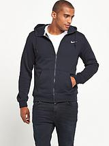 Mens Club Full Zip Hooded Top