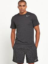 Mens Dri-Fit Touch Short Sleeved Heathered T-shirt