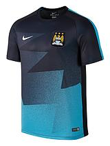 Mens Manchester City FC Pre Match Training Top
