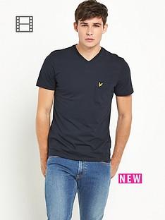 lyle-scott-mens-v-neck-pocket-t-shirt-new-navy