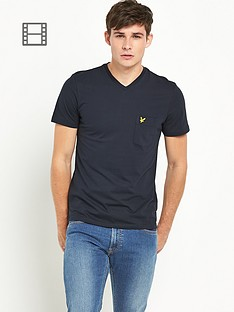 lyle-scott-mens-v-neck-pocket-t-shirt-new-navy