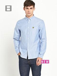 lyle-scott-mens-long-sleeve-oxford-shirt-french-navy