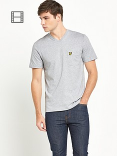 lyle-scott-mens-v-neck-pocket-t-shirt-light-grey-marl