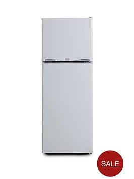 swan-essentials-ser5320w-48cm-freezer-over-fridge-next-day-delivery-white